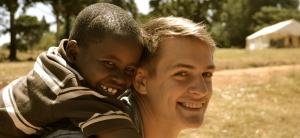 Elliot Berry in Kenya with Open Arms International