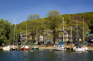 Waterhead on the shores of Lake Windermere will be the ideal place to see the torch on 21st June