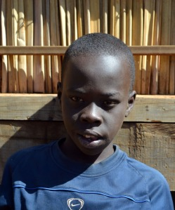 Abraham, adopted by Lancaster House is 10 Years old and currently lives in the Open Arms Village.