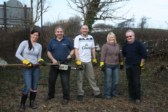 Lancaster House Groundforce Team