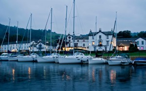 Low Wood Bay will be the perfect location to see the torch as it sails down the Lake