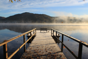 Early Morning on Windermere by Francesca Baily, Redhill
