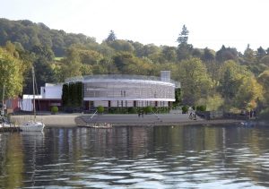 An artist's impression of the Convention Centre