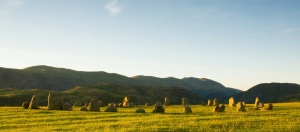 Castlerigg Stone Circle is one of the most visually impressive prehistoric monuments in Britain, and is the most visited stone circle in Cumbria.