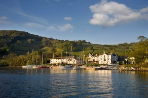 The steamer will pass close to the waters of Low Wood Bay Marina
