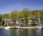 The torch will board a steamer outside the 4 Star Waterhead Boutique Hotel.