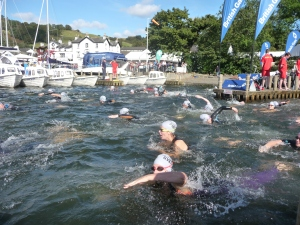 Great North Swim at Low Wood Bay