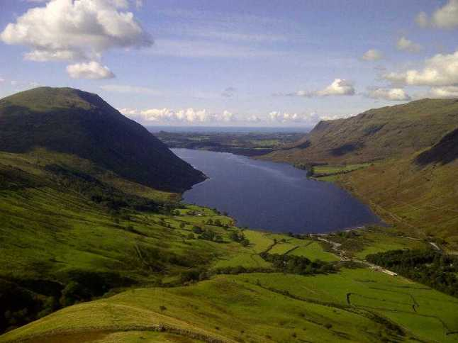 Wastwater from Lingmell