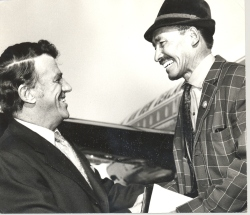 Edmund Hillary & Sherpa Tenzing (Photo credit: Horowhenua Historical Society Inc.)