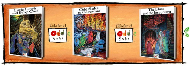 Lakeland Oddsocks Books