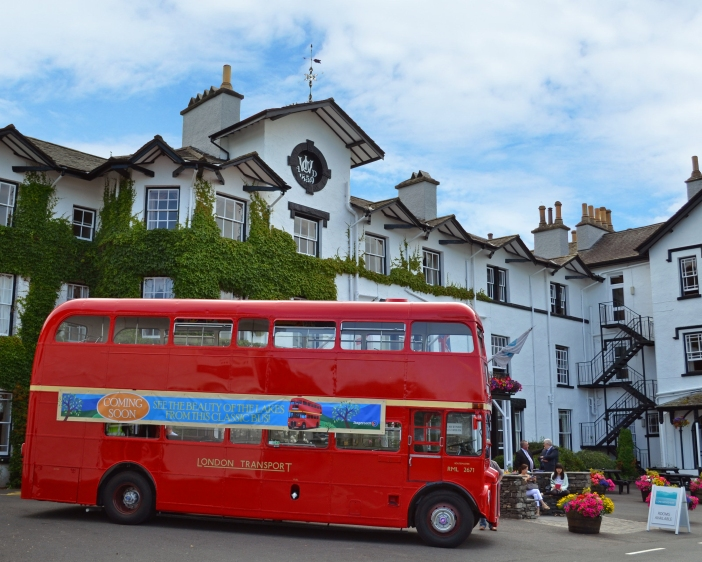 London Bus at Low Wood Bay