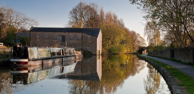 Lancaster Canal in Lancaster (Photo Credit: Nina Claridge)