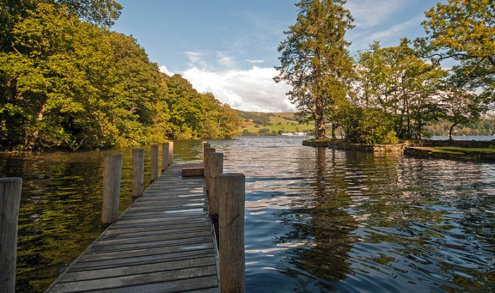 Idyllic spot in the Lakes (Credit: Graham Jowett)