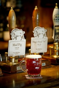 Time for a pint of Mad Pig Ale or Hogs Head 54
