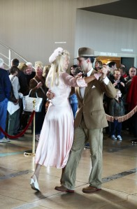 Anthony Padgett dancing at The Midland for Vintage By The Sea 2013