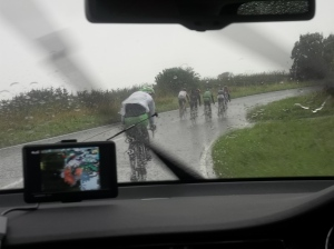 Keeping up with the breakaway group