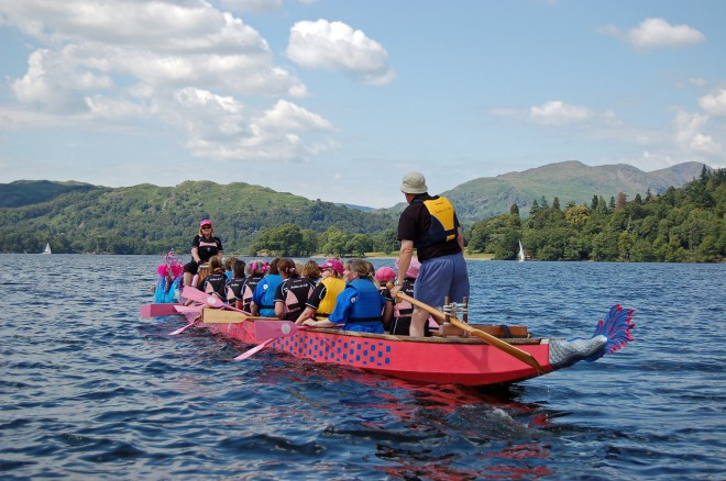 You can't beat a good paddle on Lake Windermere