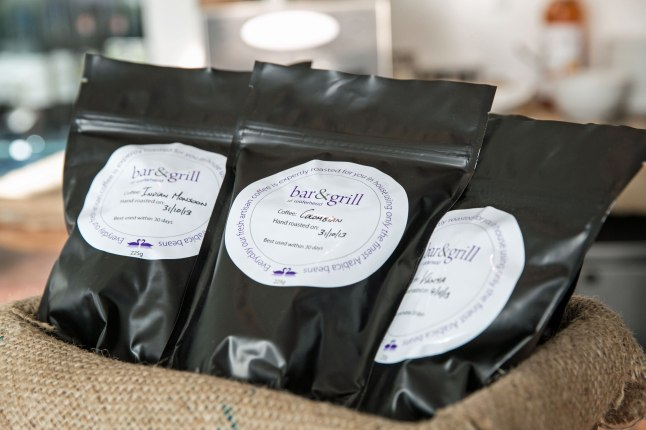 Coffee beans roasted at Waterhead for sale