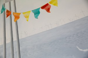 Offshore wind turbines: a nod to the modern day coast line