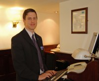 James Wilkinson at Low Wood Bay Reception