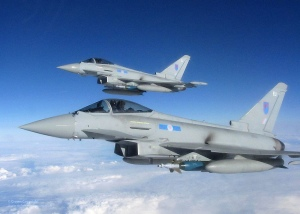 RAF Typhoon Aircraft (Credit: UK Ministry of Defence)