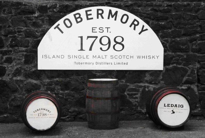The only distillery on the island of Mull