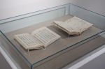 Wordsworth and Bashō manuscripts side by side
