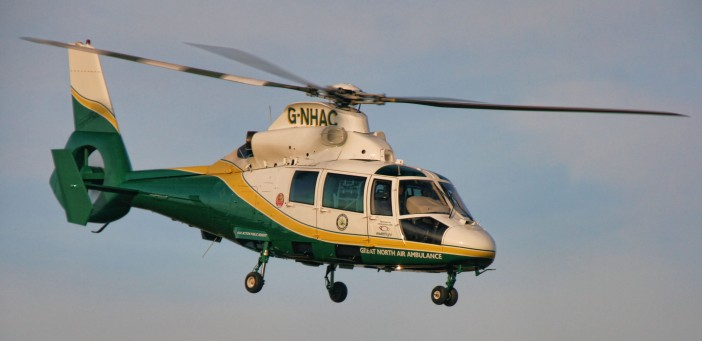Great North Air Ambulance . Photo by: Peter McDermott