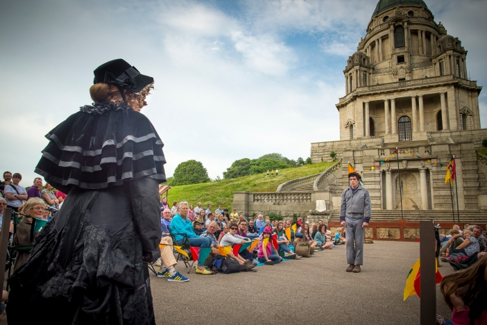 The Dukes present Oliver Twist in Lancaster's Williamson Park until August 15