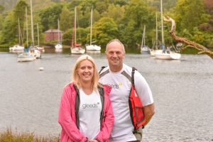 As well as organising the event, Kirsty will also be taking part in the challenge, with Sir Steve.