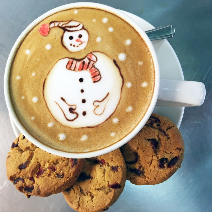 Enjoy our Festive Cookies with an expertly crafted Waterhead coffee.