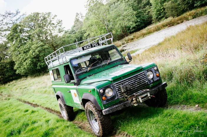 The Wild Boar 4x4 usually found in our private woodland / James Bebson Photography