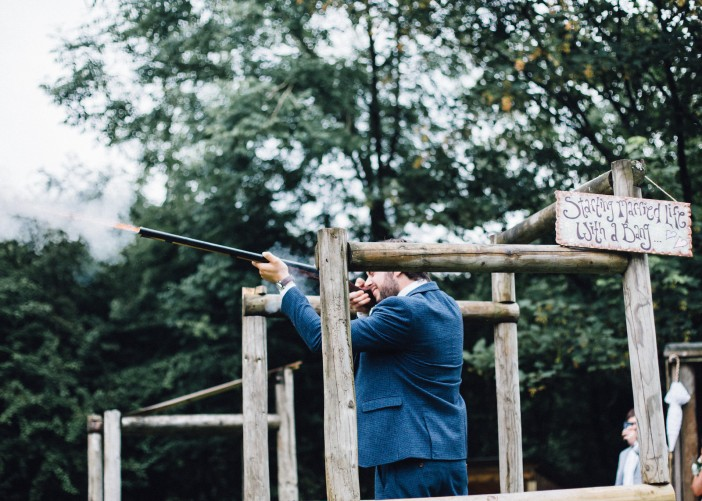 Start married life with a bang in The Wild Boar Woods