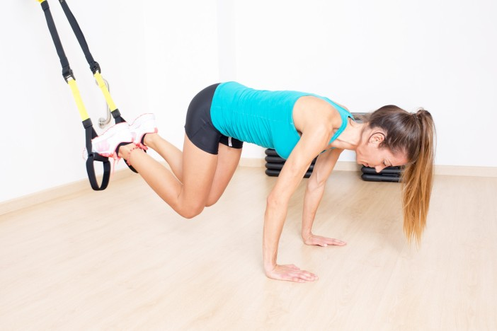 An example suspension training exercise