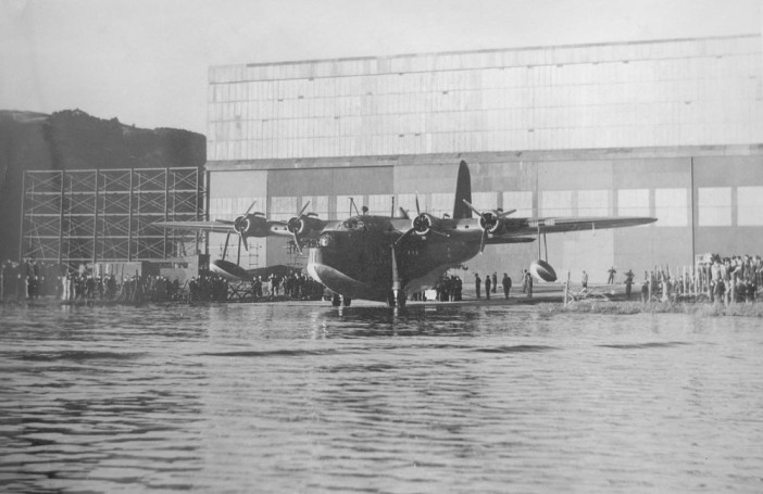 Flying Boat ready to launch