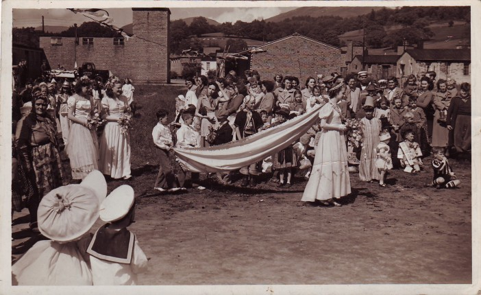 May Queen Celebrations on Calgarth Estate