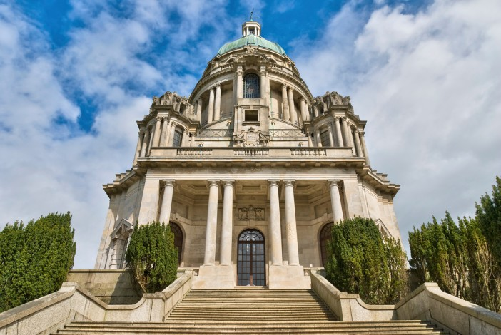 The Ashton Memorial is a folly in Williamson Park, Lancaster, Lancashire, England built between 1907 and 1909 by millionaire industrialist Lord Ashton.