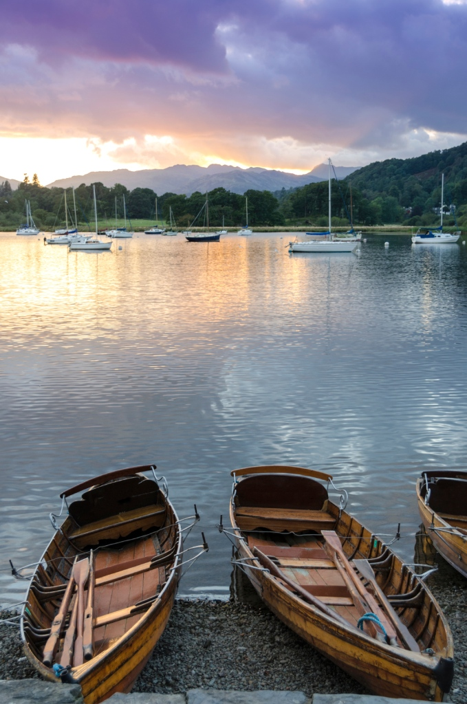 View across Windermere from Waterhead