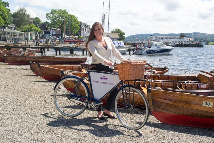 The Gin Bike is out and about in South Lakes