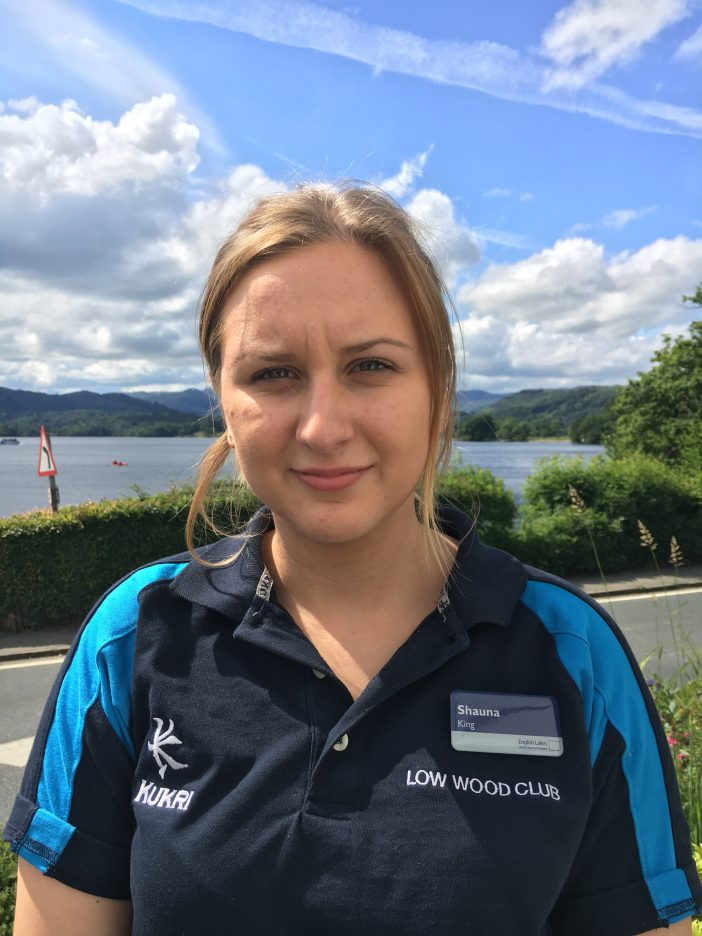 Shauna King, Low Wood Bay Fitness Instructor